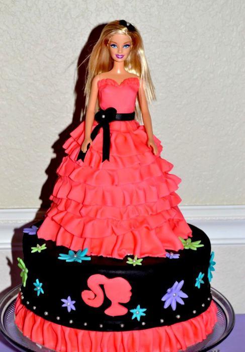 Торт из мастики для девочки своими руками 28