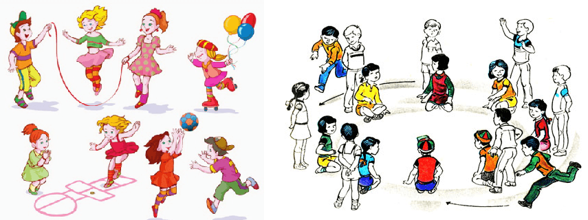 Подвижные игры для детей 7-10 лет на улице