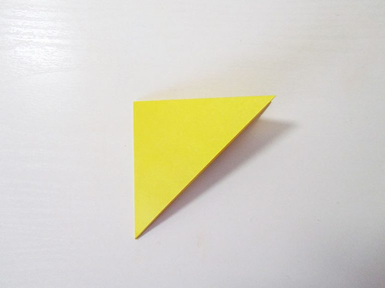 Сделать оригами листа а4