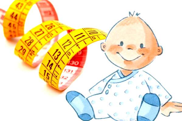 neugeborenes gewichtszunahme tabelle